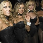 Carmen Electra deals Blackjack at the Playboy Club in Las Vegas